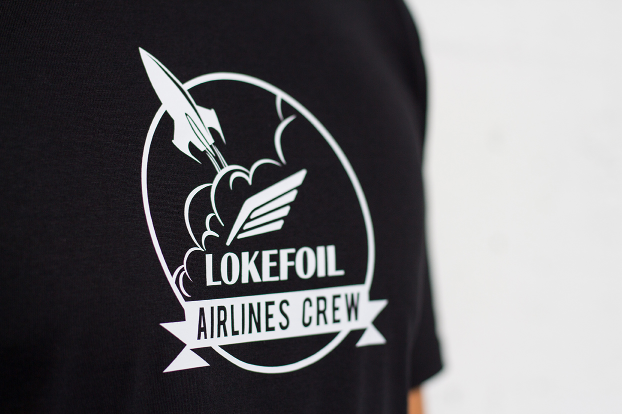 T-shirt homme Airlines Crew