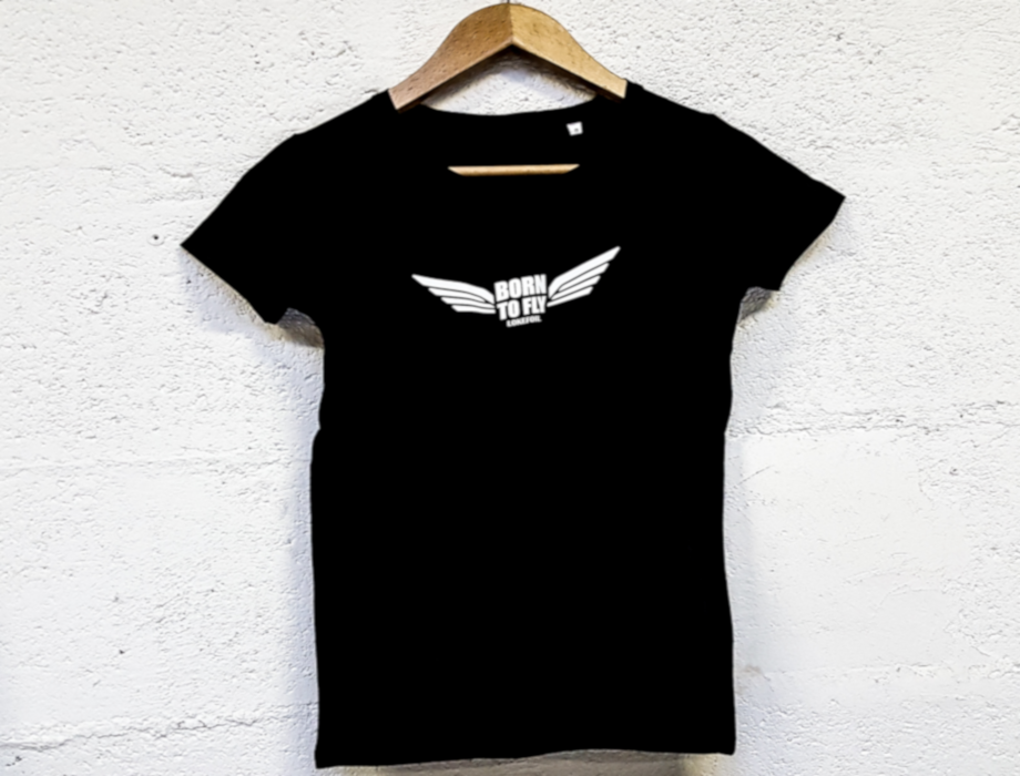 T-shirt femme Born to Fly